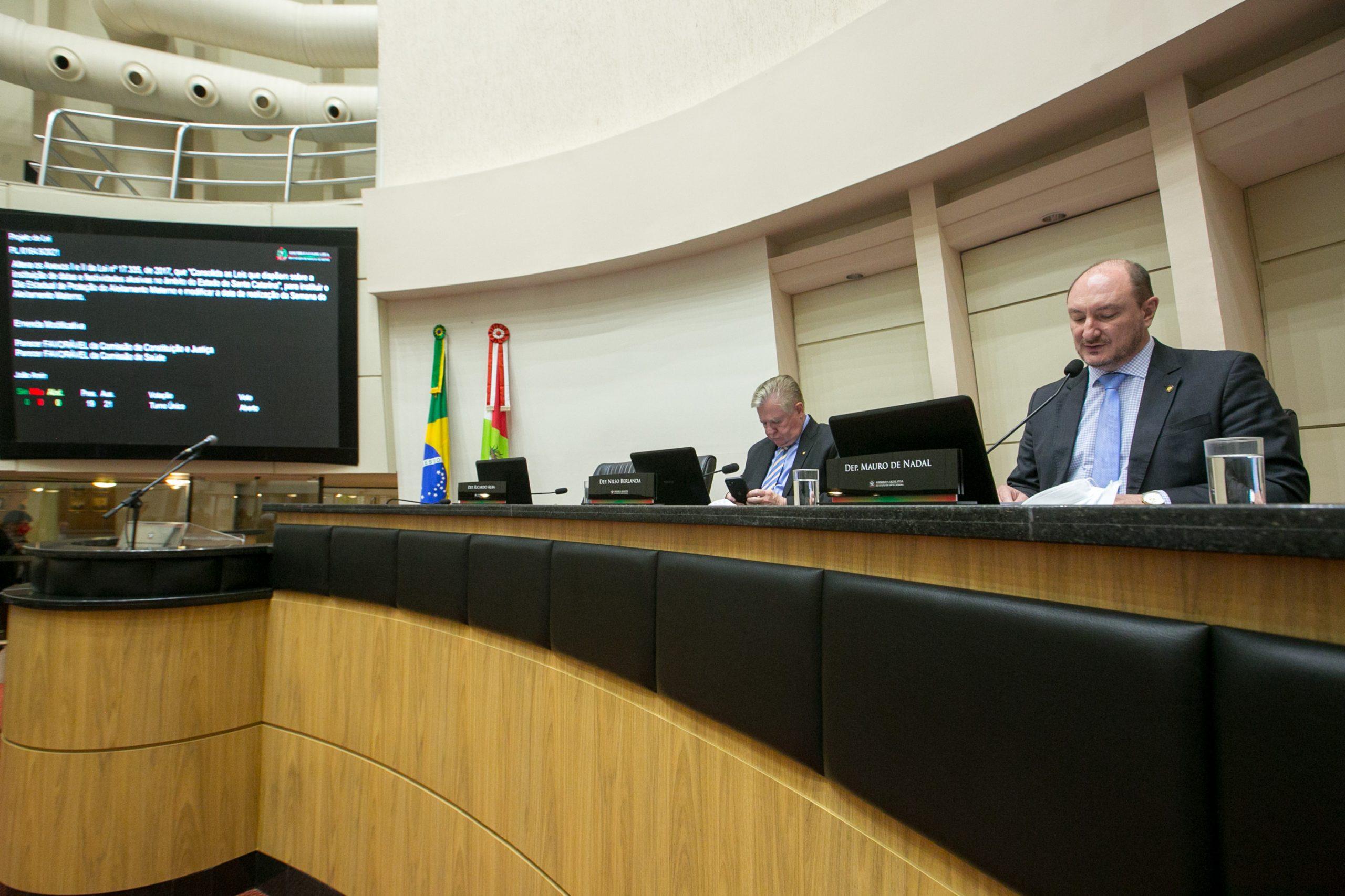 Foto: Divulgação/Alesc